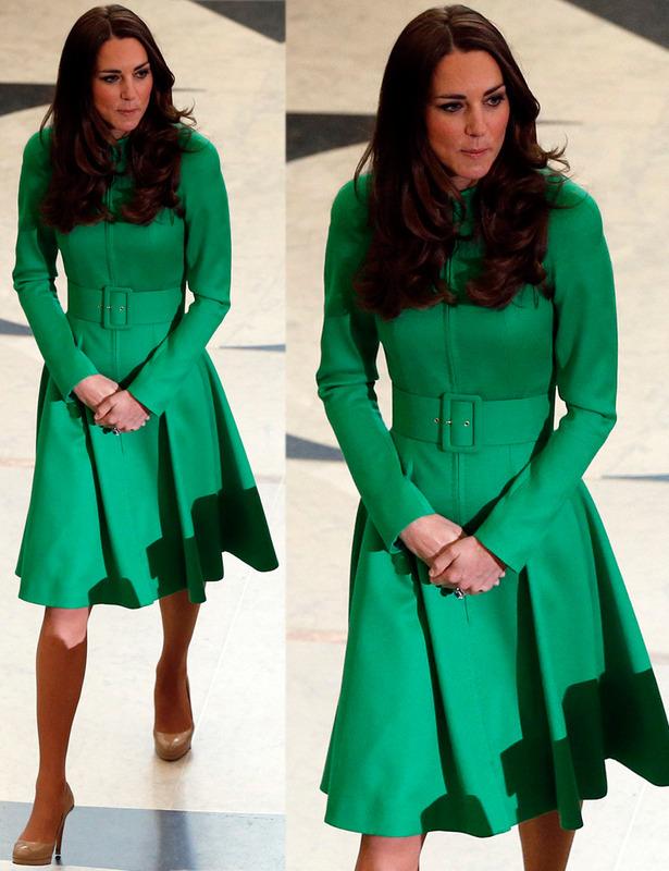 abrigo verde lady