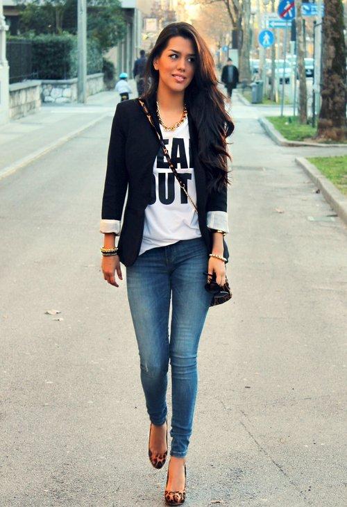 negra chaqueta