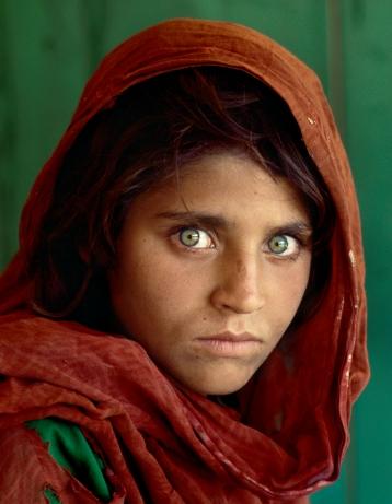 niña afgana 1985